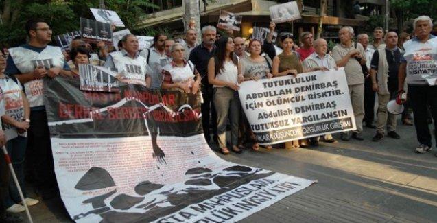 Abdullah Demirbaş'ın tahliyesi talep ediliyor