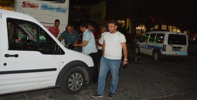 Aksaray'da yolcu otobüslerine taşlı saldırı