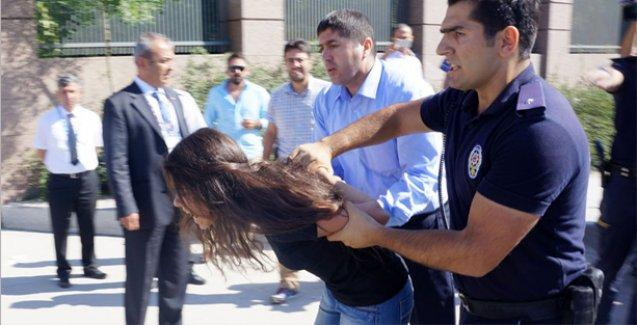 B20 zirvesi protestosunda 17 gözaltı