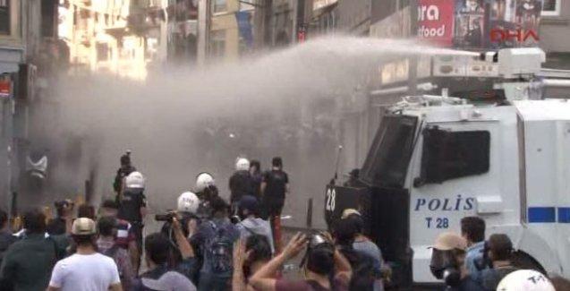 'Barış Bloku'na polis saldırısı
