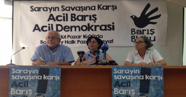 Barış Bloku'ndan 6 Eylül'deki Barış Mitingi'ne çağrı
