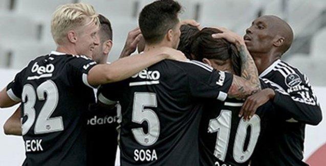 Beşiktaş üç puanla başladı