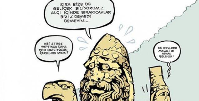 Beyaz kireç taşı döşenen Aspendos Uykusuz'un kapağında: Artık pırıl pırıl