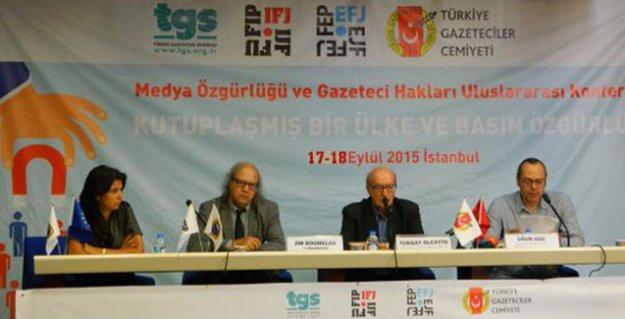 'Çatışmalı süreçte bölgede çalışan gazetecilerin can güvenliği yok'