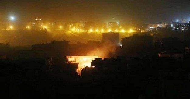 Cizre'deki saldırılarda dün gece en az 8 sivil yaşamını yitirdi