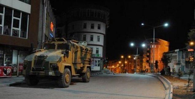 Cizre'de 'ikinci bir emre kadar 'sokağa çıkma yasağı