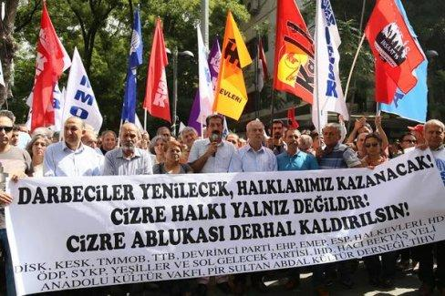 'Cizre'de işlenen suçların hesabını soracağız'