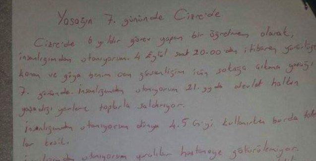 Cizre'den bir öğretmen anlatıyor: Sivil insanlar öldürülüyor, halk kendini korumaya çalışıyor