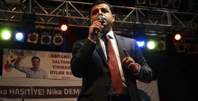 Demirtaş: Biz olmasak Erdoğan ve AKP ülkeye kan kusturacak