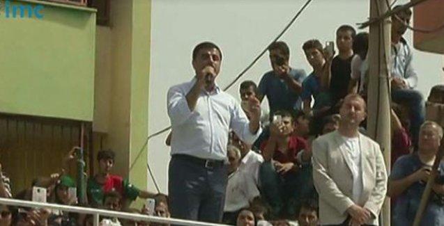 Demirtaş Cizre'de sordu: Katleden zihniyet neyi bitirdiniz!
