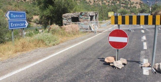 Dersim'de yollar 3 gün kapatıldı!