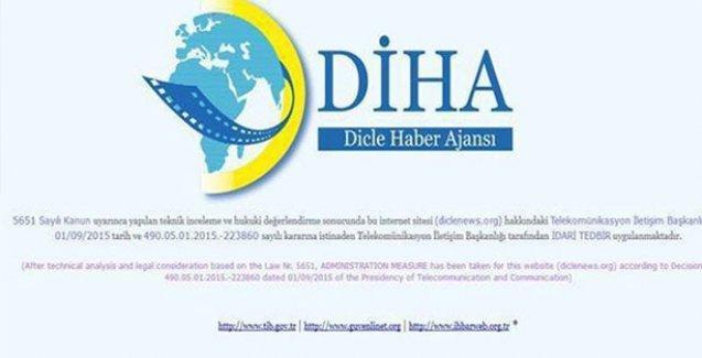 DİHA'ya 5'inci kez erişim engeli