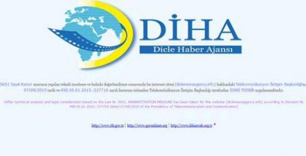 DİHA'ya 25'inci erişim engeli