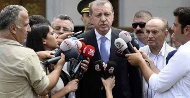 Erdoğan: PYD ve YPG terör örgütüdür