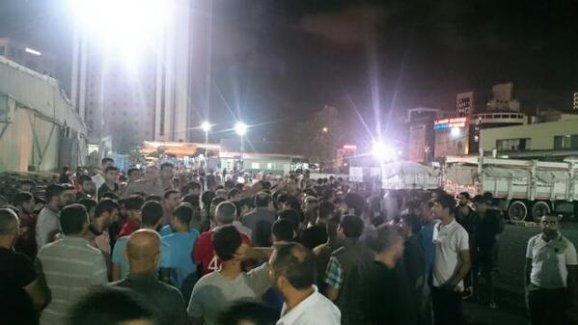 İçerenköy'de hal emekçileri Cizre için hali açmama kararı aldı: 'Biz de ölelim!'
