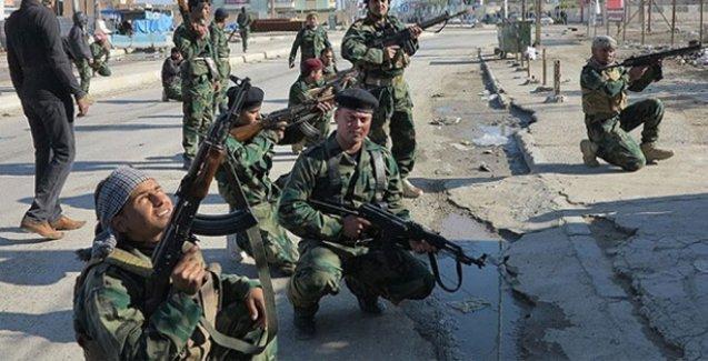 Irak askerleri ile Türkiyeli işçileri kaçırdığından şüphelenilen grup arasında çatışma