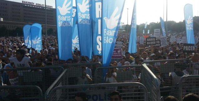 İstanbul Barış Mitingi: Acil barış ve acil demokrasi istiyoruz