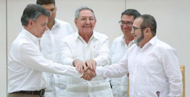 Kolombiya hükümeti ile Farc '6 ay içinde barış anlaşması imzalayacak'