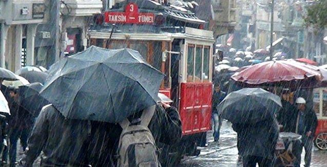 Meteoroloji'den Marmara için 'çok kuvvetli yağış' ve sel uyarısı