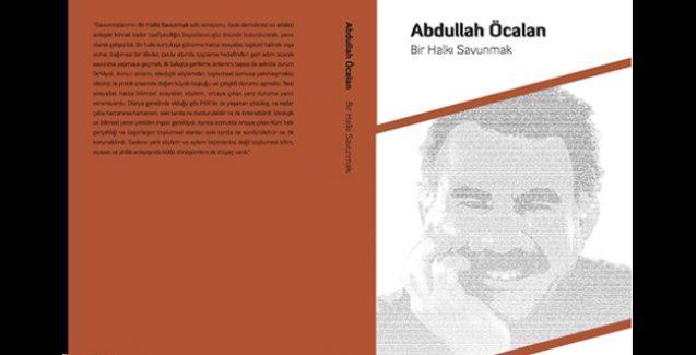 Öcalan'ın 'Bir Halkı Savunmak' kitabı raflarda yerini aldı