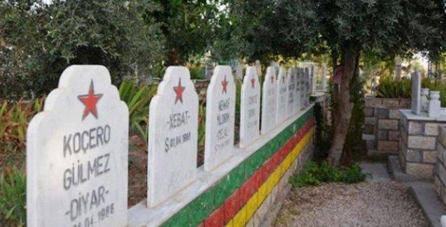 PKK mezarlıkları için imha talimatı