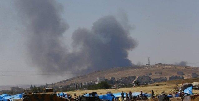 Serekaniye'de PYD'ye saldırı