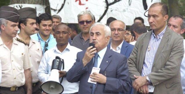 Suriyeli sığınmacılardan Vali Şahin'e protesto