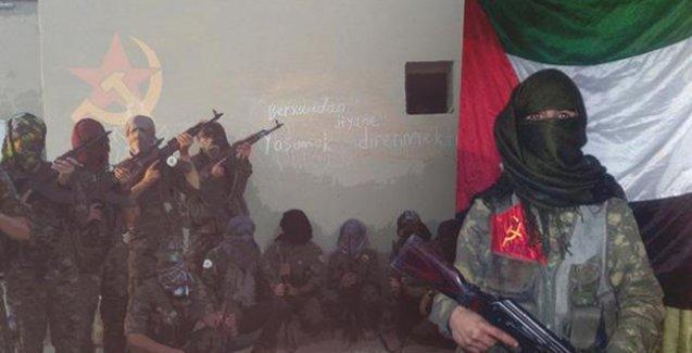 Türkiyeli sosyalistlerden oluşan 'Birleşik Özgürlük Güçleri' IŞİD'i Rakka'da vurdu