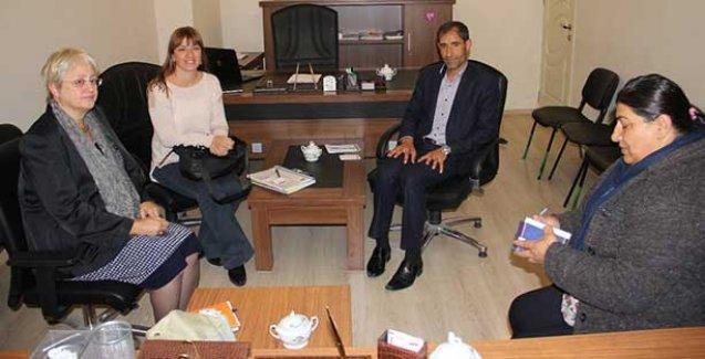 AB delegasyonu HDP'yi ziyaret etti