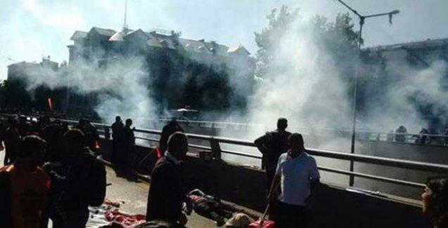 Ankara'da 'barış mitingi'nde patlama: 'Ölü ve yaralılar var'