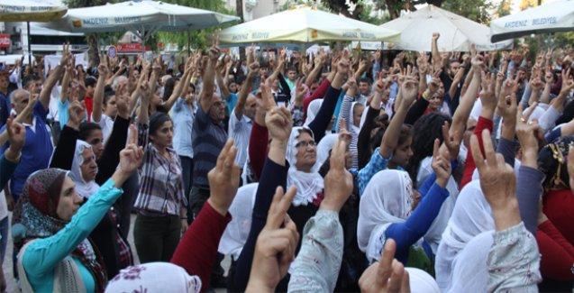 Ankara Katliamı Mersin'de de lanetlendi