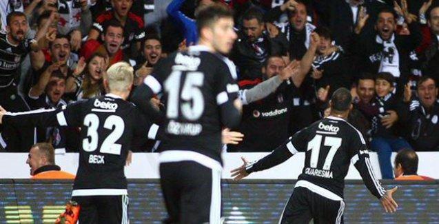 Beşiktaş: 1 - Çaykur Rizespor: 0