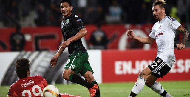 Beşiktaş Sporting'i elinden kaçırdı