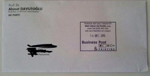 Davutoğlu'nun yurtdışındaki seçmenlere mektubu TBMM gündeminde