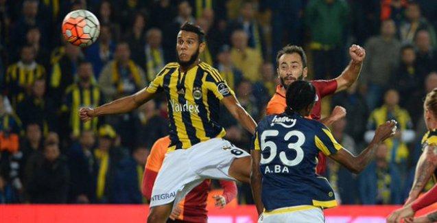 Derbide kazanan yok; Fenerbahçe:1 - Galatasaray:1