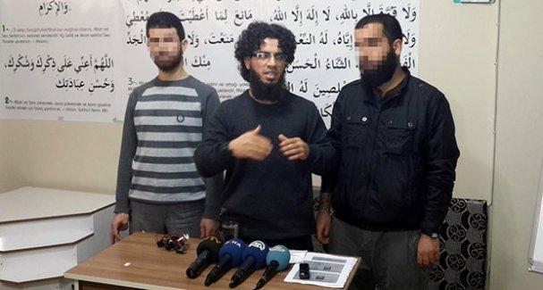 Diyarbakır'da yakalanan IŞİD'liler basın toplantısı bile düzenlemiş!