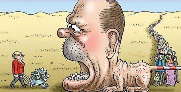 Dünyaca ünlü karikatürist Erdoğan'ı böyle çizdi