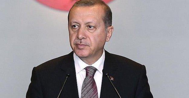 Erdoğan: Kaçak Saray kadar başınıza taş düşsün