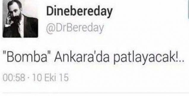 HDP'li dedikleri Twitter'deki @DrBereday MİT görevlisi mi?