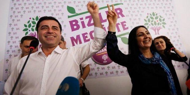 HDP, seçim bildirgesini açıkladı: İnadına HDP, inadına barış!