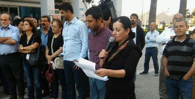 İzmir'de 9 Ekim eylemine saldırı: 5 kişi gözaltına alındı