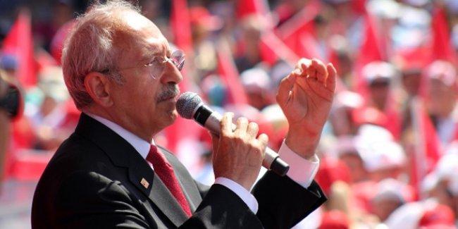 Kılıçdaroğlu: Davutoğlu Erdoğan için çalışır, Kılıçdaroğlu halk için çalışır