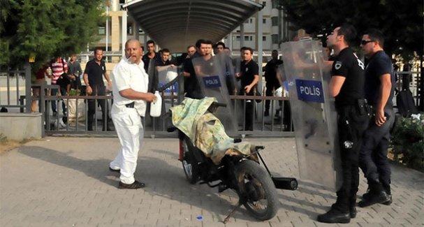 Kobani eylemine saldıran palalıya mahkemede 'iyi hal indirimi' uygulandı!