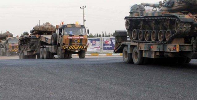 Nusaybin'e tank sevkiyatı