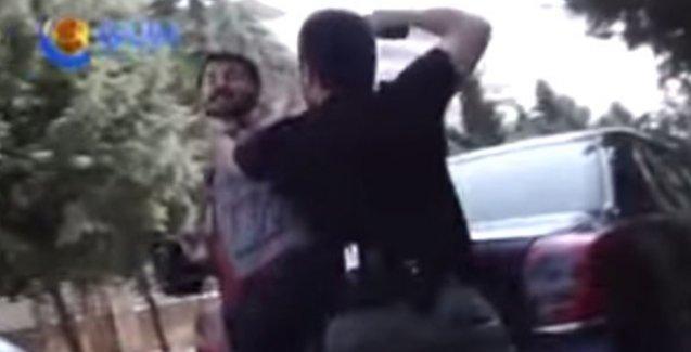 Özel harekat polisi Silvan'da gazetecinin kafasına silah dayadı!