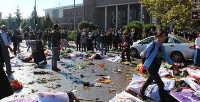Ankara'daki katliam birçok ilde protesto ediliyor