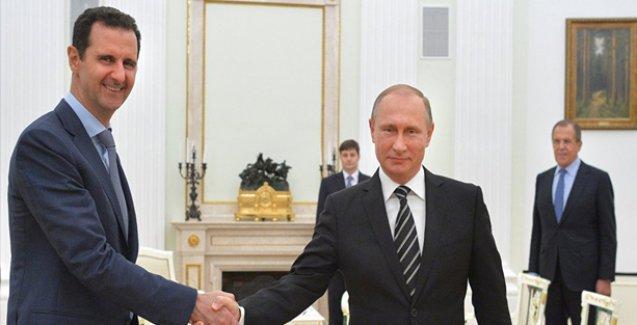 İngiltere: Esad'ı ikna edecek güce sahip tek kişi Putin