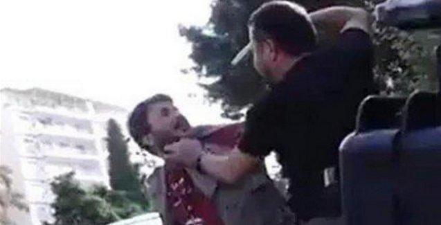 Kafasına silah dayanan gazetecilere para cezası