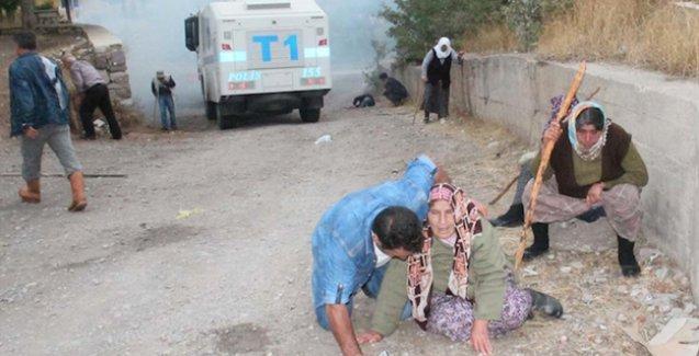 Sivas'ta suyunu vermek istemeyen köylülere Jandarma saldırısı
