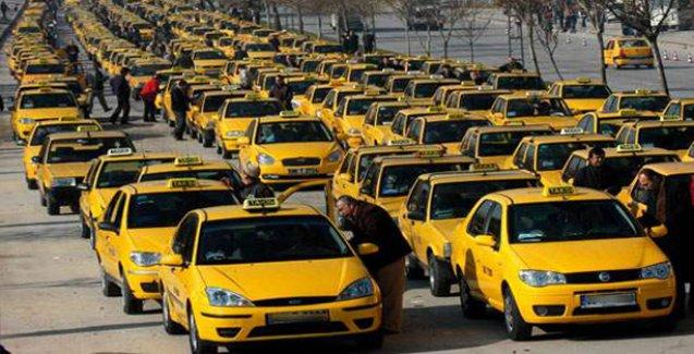 Taksiciye ilginç ceza